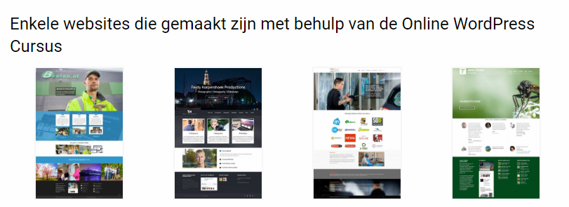 video cursus wordpress