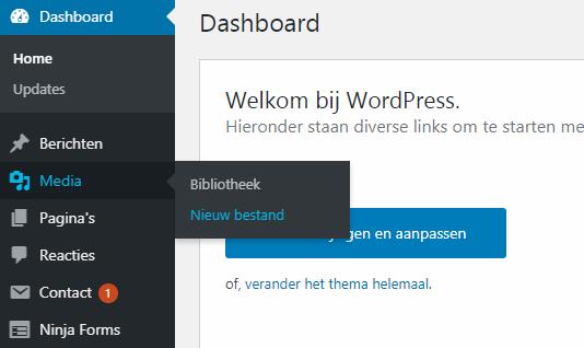Customizr Theme Slider Instellen