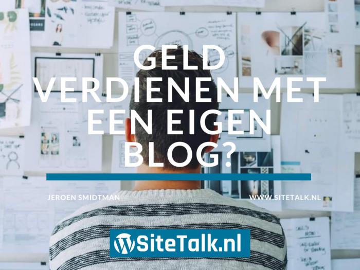 Geld verdienen met een eigen blog