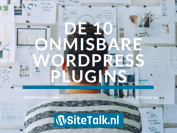 Onmisbare Wordpress plugins