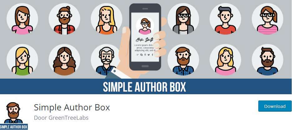 simple author box