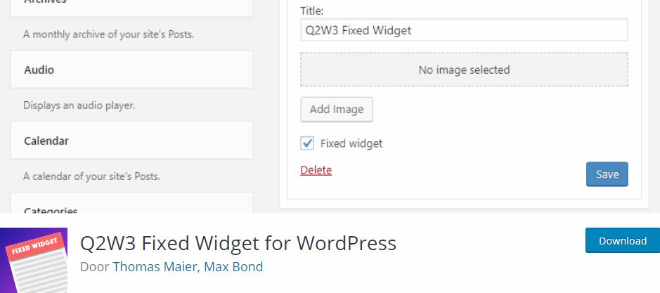 widget plugin